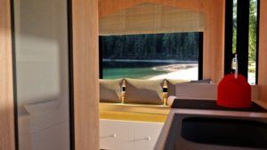 Dům Casa Lokomotif Mobile Office a model domácí kancelářské domácnosti Tiny