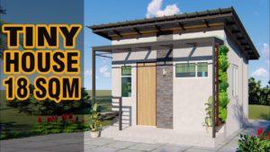 Design malého domu (18 m²)