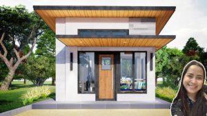 Design malého domu 4x4 (16 SQM)