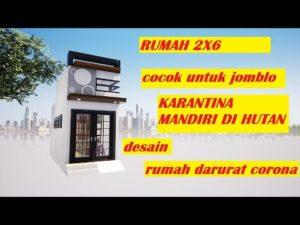 EP 67 Drobný dům Indonésie 2x6 metrový dům o velikosti 2x6 malého domu v malé uličce 2x6 2020