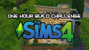 Hodinová stavba Challenge - Tiny House The Sims 4