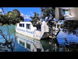 Houseboat Tour ~ Můj malý dům na vodě. Clay Tall Stories