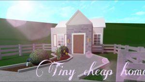 Levné Tiny Home[]bloxburg speedbuild