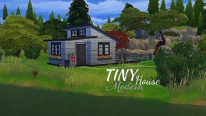 MODERNÍ DENNÝ DOM The Sims 4 | Speed Build | Žádné CC