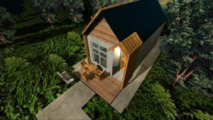 Malý dům  Plan 20 m2  Design Home