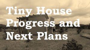 Malý dům Progress a naše další budova ..