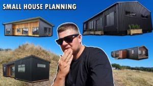 Malý dům na statku plánování statku
