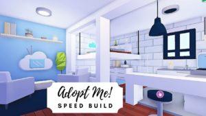 Malý moderní estetický dům + střešní terasa Speed Build 🌸 Roblox Ad Me Me!
