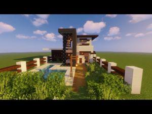 Moderní Tiny House / Speed Build in Minecraft