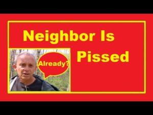 Náš soused nám řekl, abychom přestěhovali náš malý dům 😡 Bydlení mimo mřížku