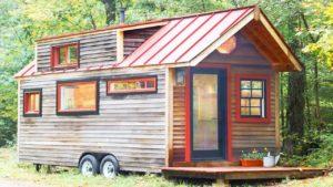 Nádherný krásný skromný dům Rustikální 20 stop malého domu na přívěsu   Nádherný malý dům