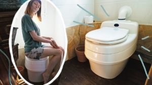 Nejvyšší toaleta? Suchá toaleta Separett Villa 9010 v testu Malý dům!