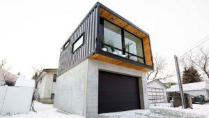 Neuvěřitelně ohromující dvoupodlažní kontejnerový dům HO2 od Honomobo | Malý dům velké bydlení