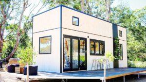 Ohromující krásný 8m vitrína Drobeček doma na kolech od Sowelo Drobné domy   Krásný malý dům