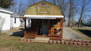 Přístřešek na dům TINY HOME Více elektrické vnitřní a přední verandy