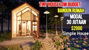 Postavte dům o 30 milionech TINY HOUSE LOW BUDGET 3