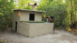 Postavte impozantní domeček s krásným bazénem z bambusu