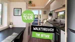 Prohlídka Bitser Tiny House | Postavte Drobeček | Katikati NZ