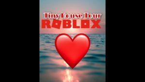 Prohlídka Roblox BloxBurg Tiny House    XoStarGaming101