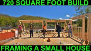 Rámování malého domu stavět (720 čtverečních stop)