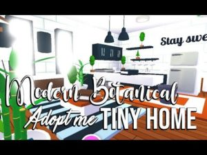 ROBLOX | Přijměte mě: Modern Botanical Tiny Home Speed ​​Build