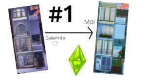Reprodukuji malý dům BellePinte (část 1) [SIMS 4]