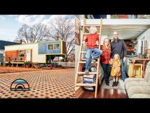 Rodina 4 přesunout do 3 ložnice 5. kola DIY malý dům