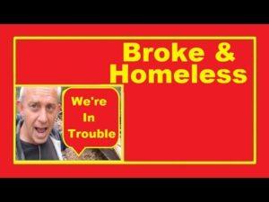 S přemýšlením o této mřížce žijící v malém domě a snaží se postavit dům bez peněz