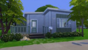 Sims 4 Speed Build! Tiny House Starter Home!