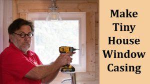 Stavba okenního pouzdra v malém domě