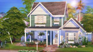 TINY 100 DĚTSKÝ DŮM 👶🏻   The Sims 4   Rychlost sestavení