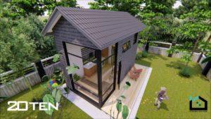 TINY HOME PERTAMA DI MALAYSIA -CONCEPT: RUSTIC GLAMOROUS