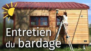 TINY HOUSE - Údržba dřevěné obklady