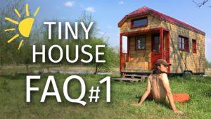 TINY HOUSE FAQ # 1: Projekt, rozpočet, legislativa, údržba