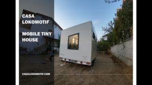 Takže chytrý dům Casa Lokomotif Mobile Tiny House - Pellini l Living Design pro dům Tiny House Turkey