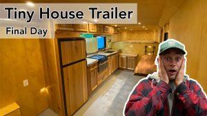 Tiny House Trailer Build Poslední den | Část 8