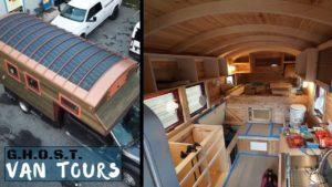 Unikátní malý dům na kolech - vlastní malý dům na posteli kamionu