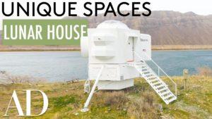 Uvnitř malého domu Apolla Lunara Landera | Unikátní prostory | Architektonický přehled