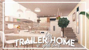 Vítejte v Bloxburgu: Tiny Trailer Home w / Split Level (38k)