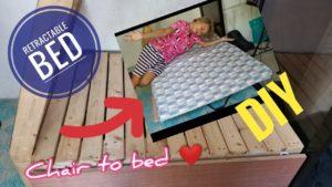 Výsuvná postel Tiny House Journey Ep02 | Cykaniki