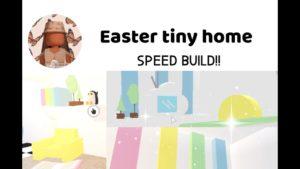 Velikonoční malý domov Rychlost Vestavte se do mě!