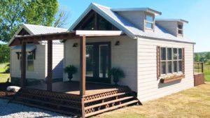 Velmi krásná kabina The Heritage od Alabama Custom Cabins | Malý dům velké bydlení