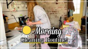 Vyčistěte můj malý dům se mnou! | Každodenní rutinní čištění!