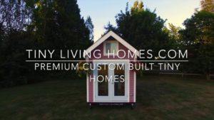 Zakázkové postavené malé domovy od Tiny Living Homes Ltd.