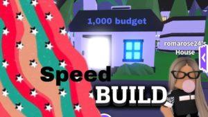 moderní malý dům! SPEED BUILD * Přijměte mě *