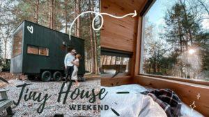 náš víkend v TINY HOUSE !! | Útěk House