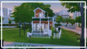 zahradníci sní malý dům // Sims 4 Speed Build