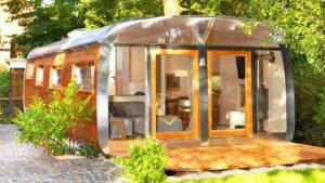 Úžasný Wohlwagen Multi kombinuje 4 moduly a vytváří tak naprosto ohromující dům, malý dům, velké bydlení
