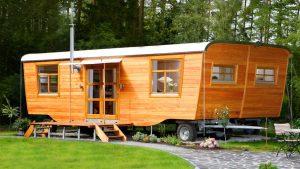 Úžasný krásný dvoumístný dům Wohlwagen XL Malý dům velké bydlení