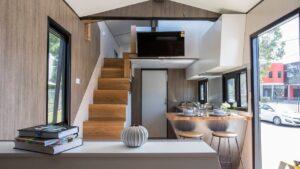 Úžasný krásný malý dům s vysoce kvalitním zpracováním a materiály Malý dům velké bydlení